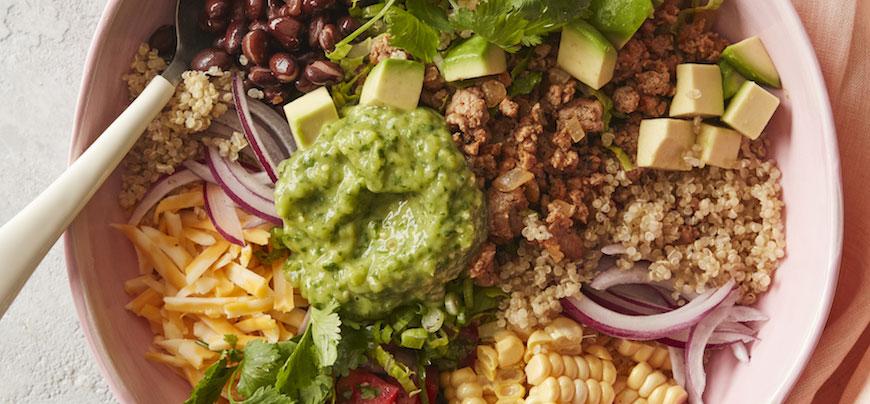 Kvinoja taco